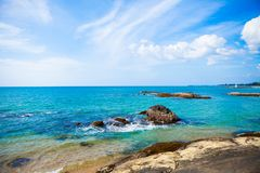 Όμορφη τροπική παραλία του LAK Phangnga Khao στην Ταϊλάνδη Στοκ Εικόνες