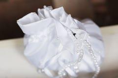 όμορφη τσάντα νυφών στοκ εικόνες