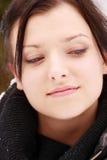 όμορφη υπαίθρια γυναίκα χι στοκ εικόνες με δικαίωμα ελεύθερης χρήσης