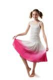 όμορφη φούστα κοριτσιών Στοκ εικόνες με δικαίωμα ελεύθερης χρήσης