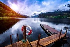 Όμορφη φύση Νορβηγία στοκ φωτογραφία με δικαίωμα ελεύθερης χρήσης