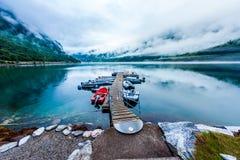 Όμορφη φύση Νορβηγία στοκ φωτογραφίες