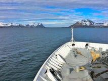Όμορφη φύση στη βόρεια Νορβηγία Στοκ Φωτογραφίες