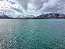 Όμορφη φύση στη βόρεια Νορβηγία Στοκ φωτογραφίες με δικαίωμα ελεύθερης χρήσης