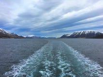 Όμορφη φύση στη βόρεια Νορβηγία Στοκ Εικόνα