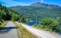 Όμορφη φύση της Νορβηγίας στοκ εικόνες