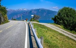 Όμορφη φύση της Νορβηγίας στοκ φωτογραφία με δικαίωμα ελεύθερης χρήσης