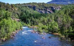 Όμορφη φύση της Νορβηγίας στοκ εικόνες με δικαίωμα ελεύθερης χρήσης