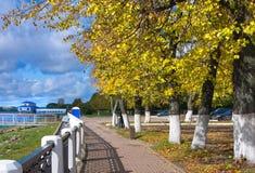 Όμορφη φύση, φθινόπωρο στην πόλη στοκ εικόνα
