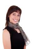 όμορφη χαμογελώντας γυν&alph Στοκ φωτογραφία με δικαίωμα ελεύθερης χρήσης