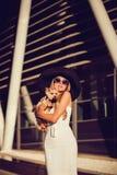 Όμορφη χαριτωμένη γυναίκα ξανθή Στοκ Φωτογραφία