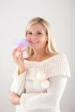 όμορφη χειμερινή γυναίκα δ Στοκ φωτογραφίες με δικαίωμα ελεύθερης χρήσης