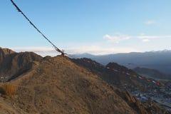 Όμορφη χειμερινή εποχή σε Leh Ladakh, Ινδία στοκ φωτογραφία