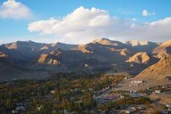 Όμορφη χειμερινή εποχή σε Leh Ladakh, Ινδία στοκ εικόνες