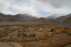 Όμορφη χειμερινή εποχή σε Leh Ladakh, Ινδία στοκ εικόνες με δικαίωμα ελεύθερης χρήσης