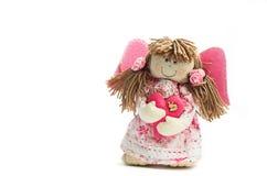 Όμορφη χειροποίητη κούκλα Στοκ φωτογραφία με δικαίωμα ελεύθερης χρήσης