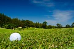 όμορφη όψη γκολφ σφαιρών Στοκ Φωτογραφία