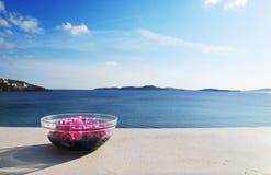 όμορφη όψη θάλασσας Στοκ Φωτογραφίες