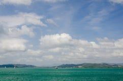 Όμορφη όψη θάλασσας Langkawi Στοκ Φωτογραφίες
