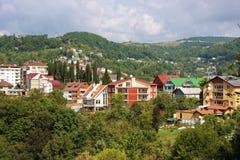 όμορφη όψη του Sochi πόλεων Στοκ Εικόνα