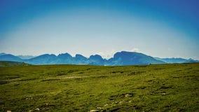 Όμορφη δύσκολη άποψη υψηλή στο βουνό Στοκ εικόνα με δικαίωμα ελεύθερης χρήσης
