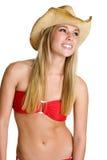 όμορφη bikini γυναίκα Στοκ Φωτογραφίες
