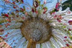 Όμορφη floral διακόσμηση στοκ εικόνα με δικαίωμα ελεύθερης χρήσης
