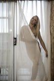 Όμορφη nude ξανθή γυναίκα Στοκ Φωτογραφίες