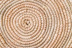 Όμορφη Raffia λεπτομέρεια σύστασης πλεξίματος Grunge χαλιών θέσεων επιπλέον τραχιά Παραδοσιακό handcraft σχέδιο ύφους ύφανσης ταϊ στοκ φωτογραφία με δικαίωμα ελεύθερης χρήσης