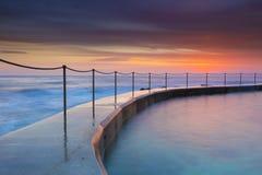 Όμορφη seascape ανατολής άποψη Στοκ εικόνα με δικαίωμα ελεύθερης χρήσης