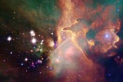 Όμορφοι γαλαξίας και συστάδα των αστεριών στη διαστημική νύχτα στοκ φωτογραφίες