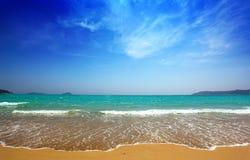 Όμορφοι θάλασσα και ουρανός στοκ φωτογραφία