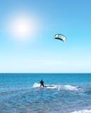 Όμορφος μπλε καραϊβικός ουρανός, και ήλιος Στοκ Εικόνα