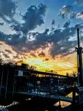 Όμορφοι ουρανοί Στοκ Φωτογραφίες