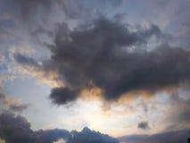 Όμορφοι ουρανός και σύννεφο Στοκ φωτογραφία με δικαίωμα ελεύθερης χρήσης