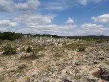 Όμορφοι στυλοβάτες πετρών άγνωστης προέλευσης Στοκ Εικόνες