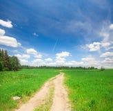 Όμορφοι τομέας και δρόμος στοκ φωτογραφίες με δικαίωμα ελεύθερης χρήσης