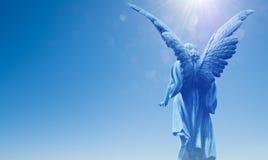 Όμορφος άγγελος στον ουρανό Στοκ φωτογραφίες με δικαίωμα ελεύθερης χρήσης