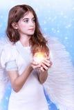 Όμορφος άγγελος Στοκ φωτογραφία με δικαίωμα ελεύθερης χρήσης
