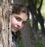 όμορφος έφηβος κοριτσιών Στοκ Εικόνες
