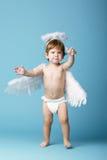 Όμορφος λίγος άγγελος Στοκ Φωτογραφία