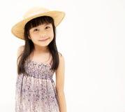 Ευτυχής λίγο ασιατικό κορίτσι Στοκ Φωτογραφίες