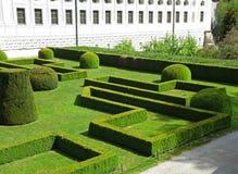 Όμορφος αγγλικός κήπος του Ambras Castle, Ίνσμπρουκ στοκ φωτογραφίες με δικαίωμα ελεύθερης χρήσης