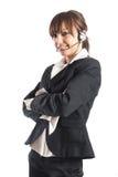 όμορφος αντιπρόσωπος πε&lambda Στοκ Φωτογραφίες