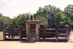 Όμορφος αρχαίος ναός hinduist Στοκ Φωτογραφία
