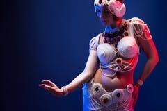 Όμορφος ασιατικός χορευτής Στοκ Εικόνα