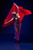 Όμορφος ασιατικός χορευτής Στοκ φωτογραφία με δικαίωμα ελεύθερης χρήσης