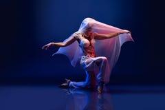 Όμορφος ασιατικός χορευτής Στοκ Εικόνες