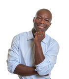Όμορφος αφρικανικός επιχειρηματίας Στοκ εικόνα με δικαίωμα ελεύθερης χρήσης