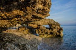Όμορφος βράχος Στοκ εικόνα με δικαίωμα ελεύθερης χρήσης